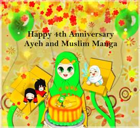 Happy Anniversary Muslim Manga~ XD by vhayoung