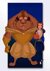 Beauty and the Beast by S-Harkey