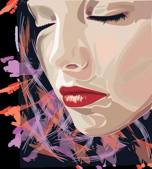 coloured girl