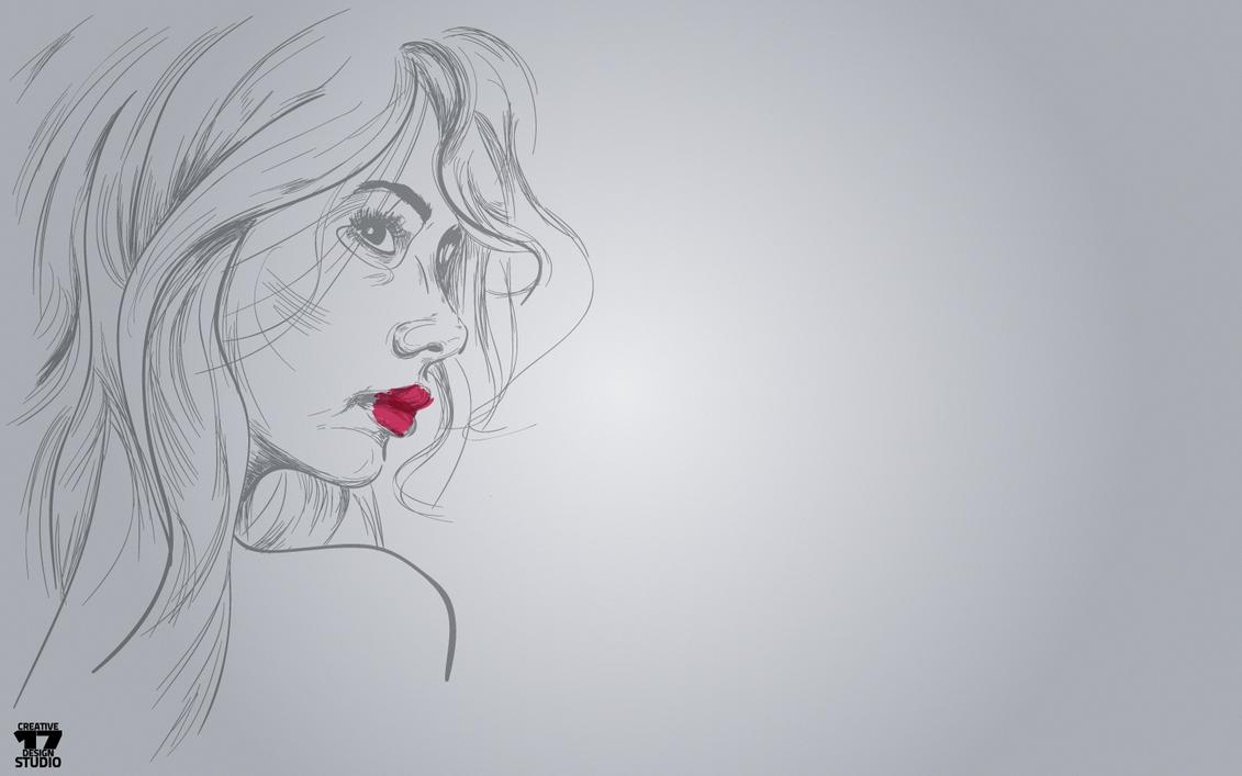 wallpaper girl by omer-oGD
