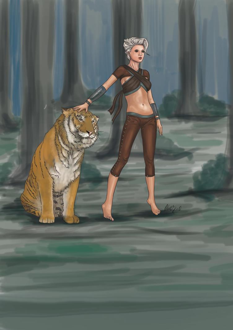 Tiger Girl Da by omer-oGD