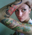 Choice Sleeve SHARPIE tattoo by Jennikatt