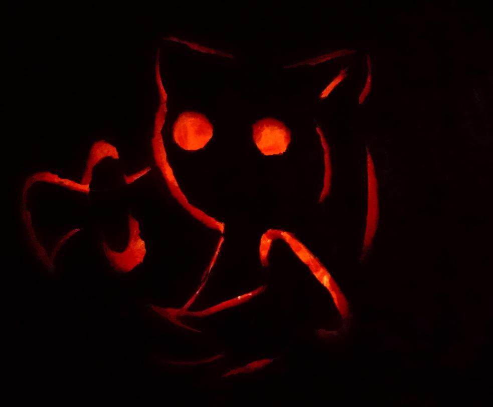 Pusheen Pumpkin Carving Kyubey Pumpkin Carving by