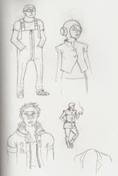 maxter sketches 4 by facekickery