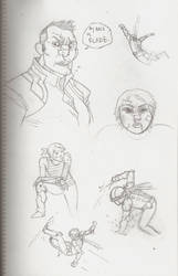 maxter sketches 5 by facekickery