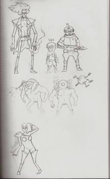 zippo sketches 2