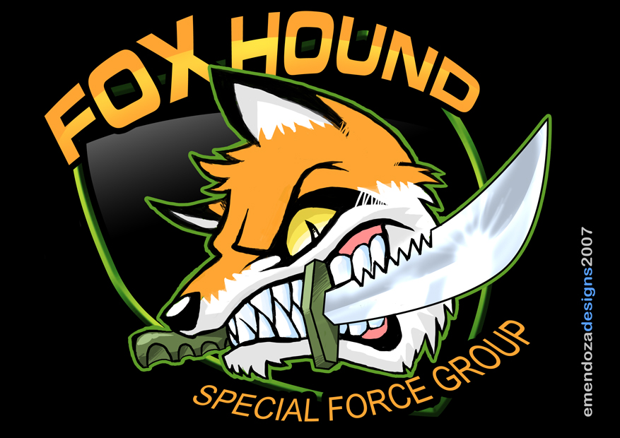 foxhound logo by tora kun on deviantart