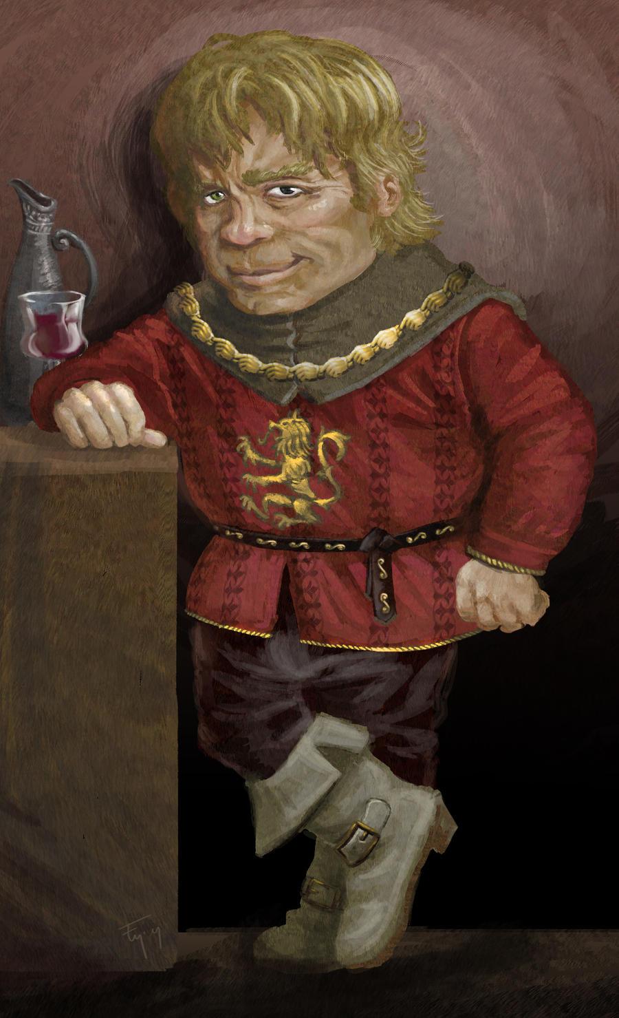 Tyrion Lannister Book Little Big Man Tyrion ...