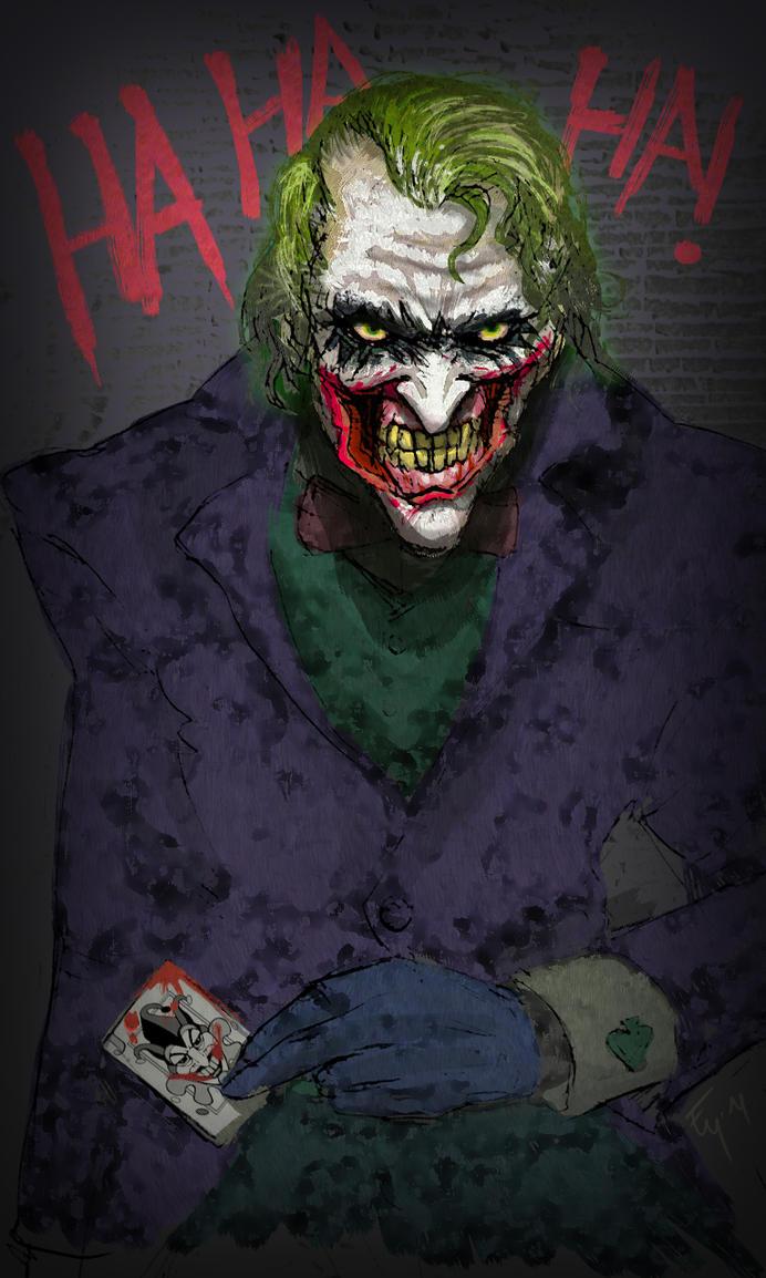 The Joker by TORA-KUN on DeviantArt