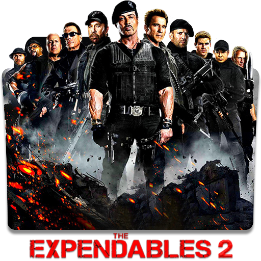 The Expendables 2 2012 Folder Icon By Chaser1049 On Deviantart