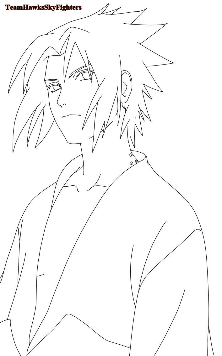 Image Result For Sasuke Coloring Pages
