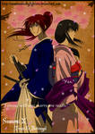 Kenshin and Tomoe: Sakura Drops by Levi-Ackerman-Heicho