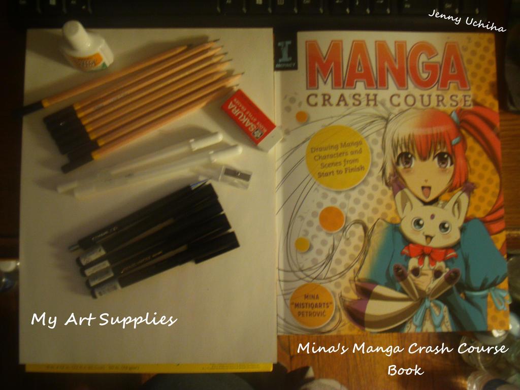 My Art Supplies and Mistiqarts Manga Crash Course by Levi-Ackerman-Heicho