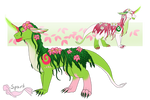 [CLOSED] Kaluna Adopt - Floralis (Subspecies) by InfamousSpark