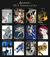 2015 Summary of Art by Lycanium