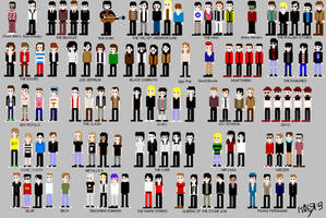 Evolucion del rock en 8bit by TTeBiZaRRo