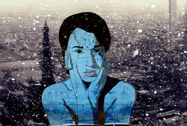 it's snowing by frau-fon-Trauer