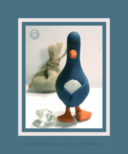 Penguin -handmade- by frau-fon-Trauer
