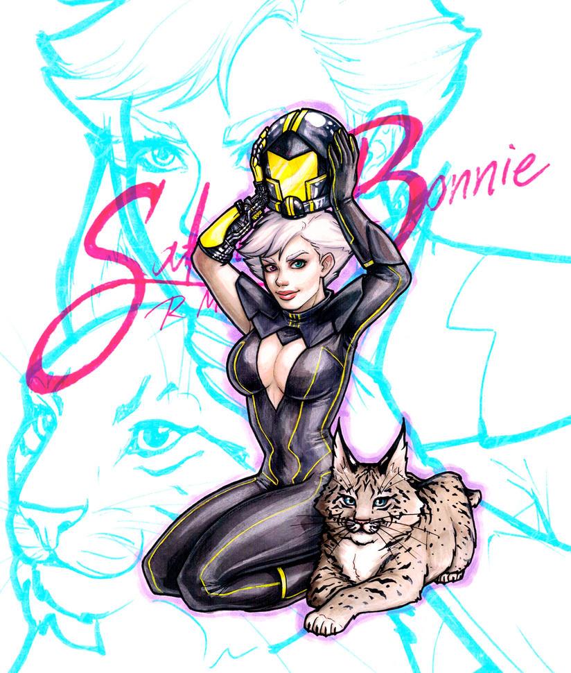 Satin and Bonnie by DedosDeMantequilla