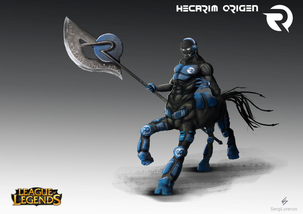 Hecarim Origen - League of Legends Contest by SergiLorenzo