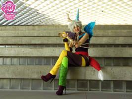 Discord -- Bravo, my little ponies! by Riku-Ryou