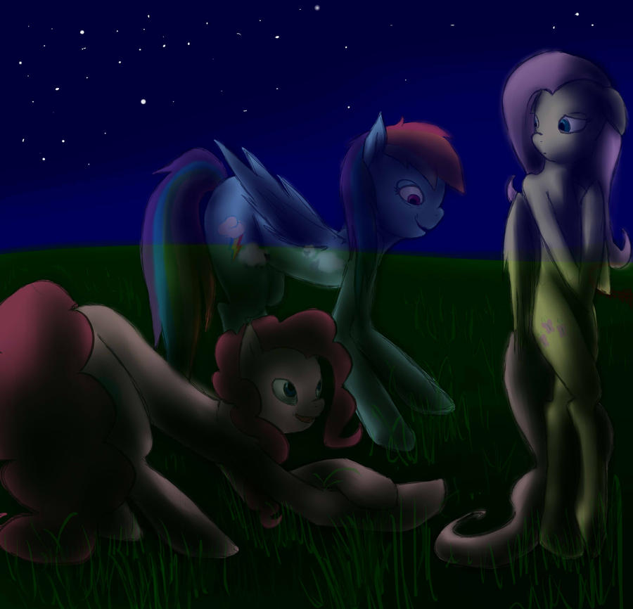 (Rainbow, Fluttershy, Pinkie) Contest by InsanitylittleRed