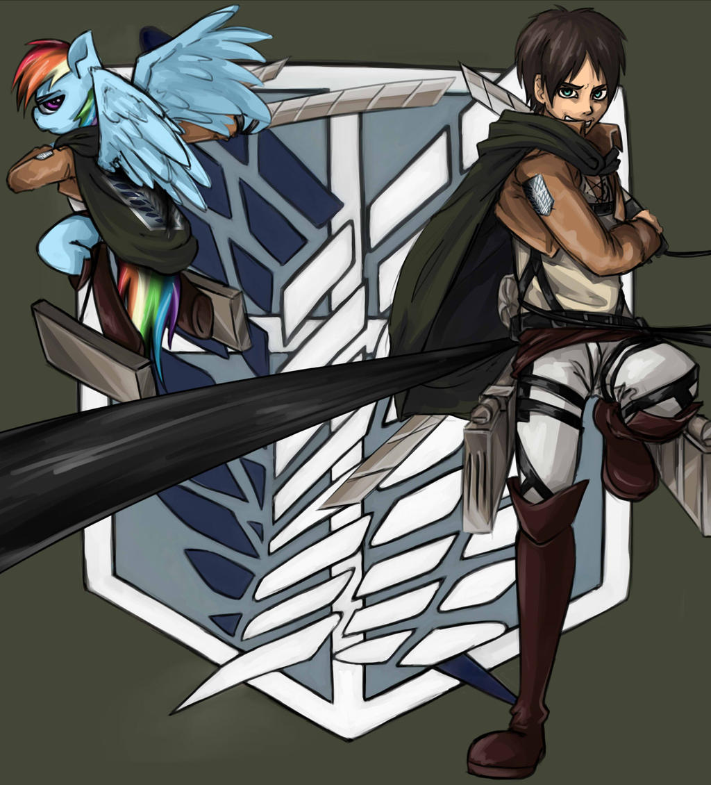 Eren and Dash by InsanitylittleRed