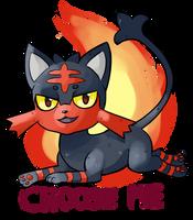 Litten (Pokemon Sun/Moon ) by R-e-q-u-i-em