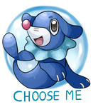 Popplio (Sun and Moon Starter)