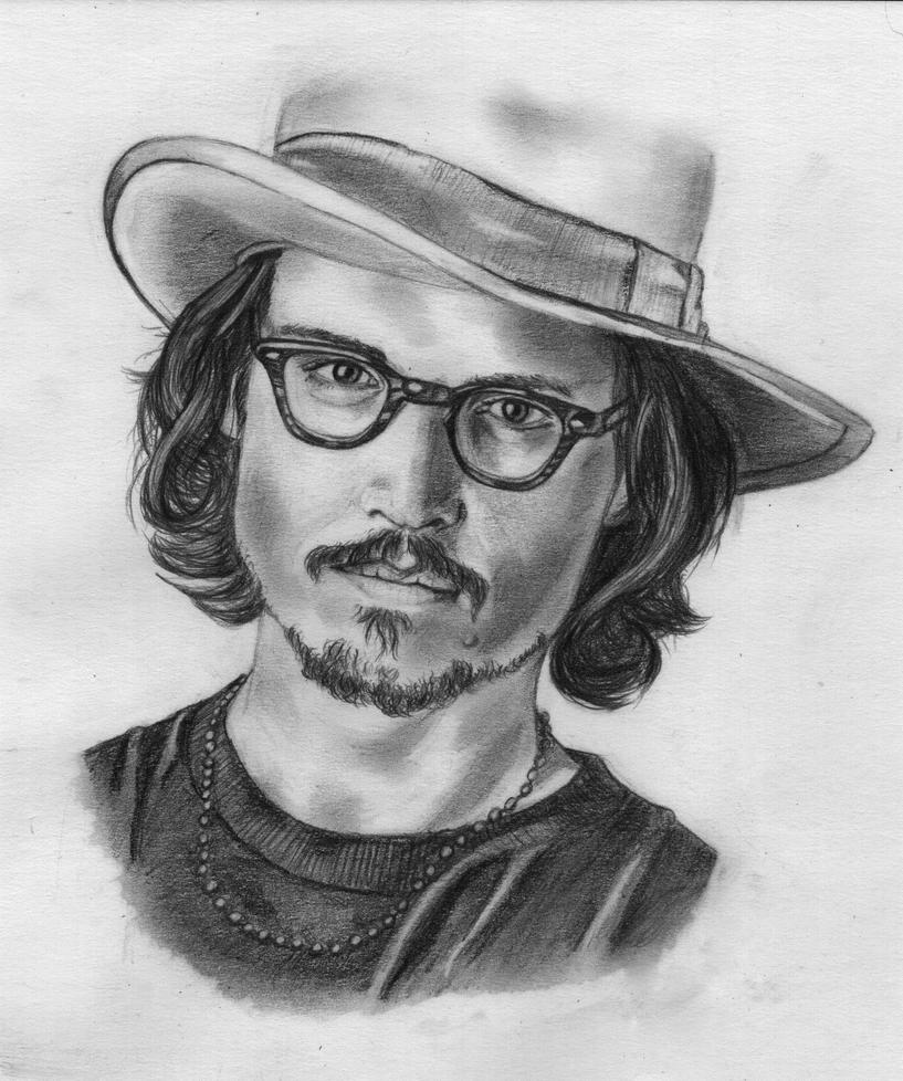 Johnny Depp by Keldarak