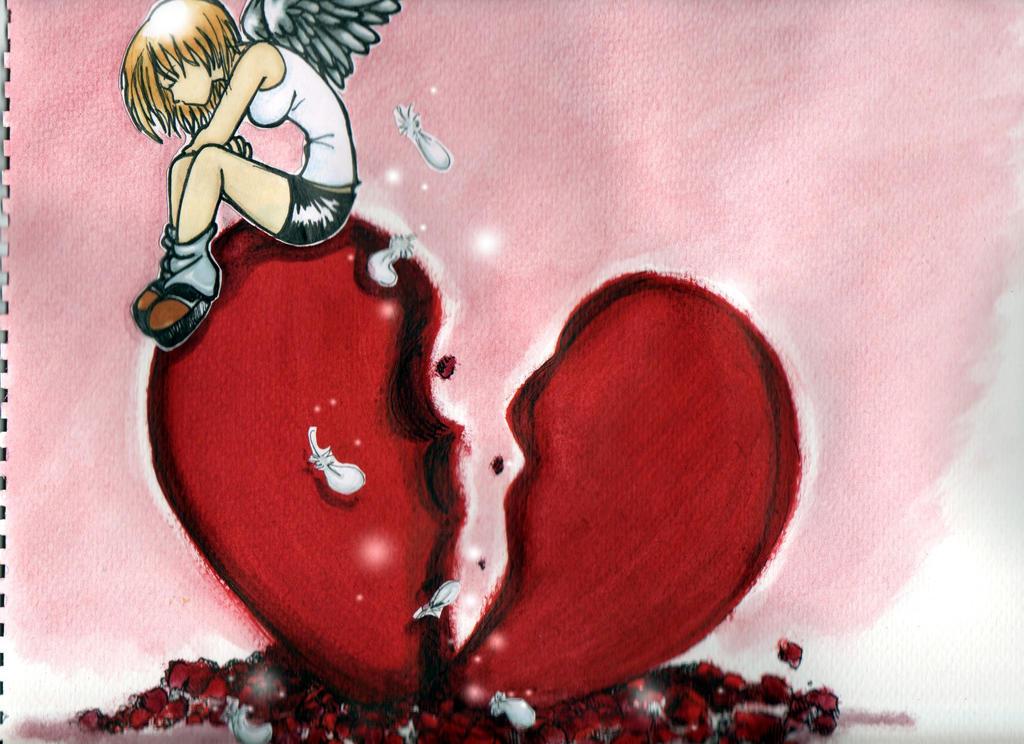 Broken heart by KaattieMaattie