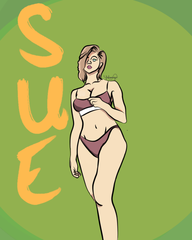 First Drawing that sucks HA by LunaaaLmao