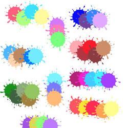 color palettes round 1