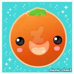 kawaii orange
