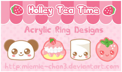 Acrylic Ring Designs ver.1 by miemie-chan3