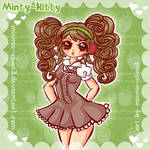 kawaii Minty-Kitty-Art