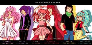 Pokemon original characters