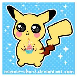 kawaii pikachu by miemie-chan3
