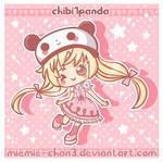 kawaii spring chibi1panda