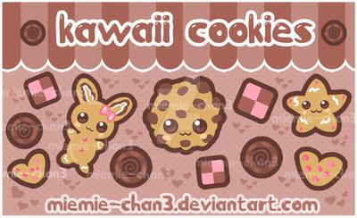 kawaii cookies by miemie-chan3
