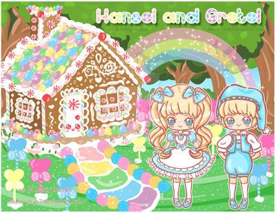 Kawaii Hansel and Gretel by miemie-chan3