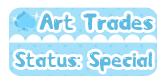 DA Button: Art Trades Special by miemie-chan3