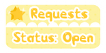 Kawaii Button: Request Open by miemie-chan3