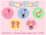 Shugo Chara Cute Button Badges
