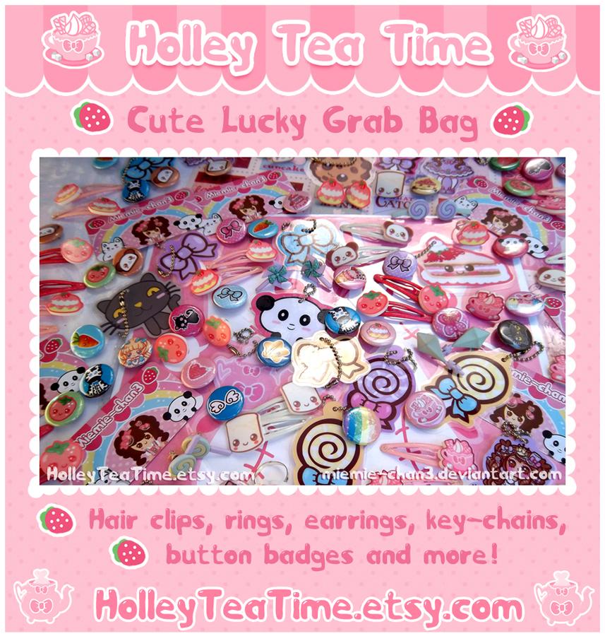 Cute Lucky Grab Bag So kawaii by miemie-chan3