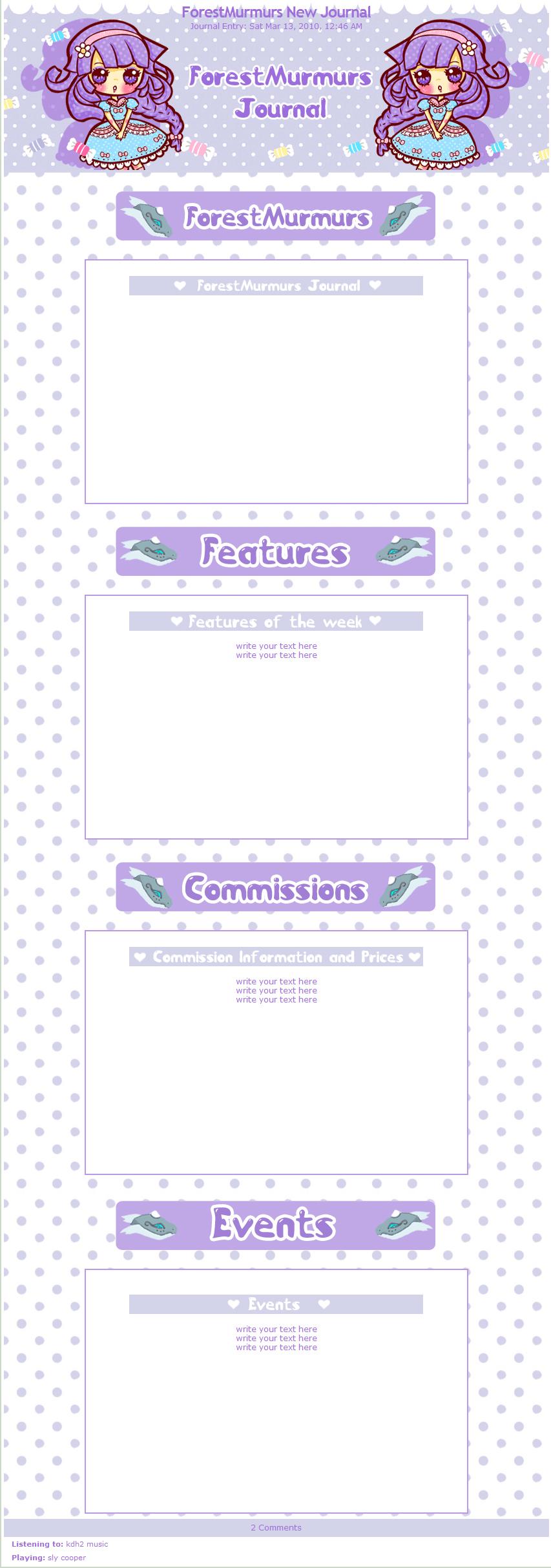 ForestMurmurs kawaii Journal by miemie-chan3