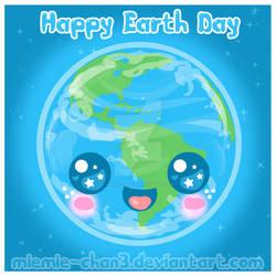 Kawaii Happy Earth Day by miemie-chan3