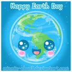 Kawaii Happy Earth Day