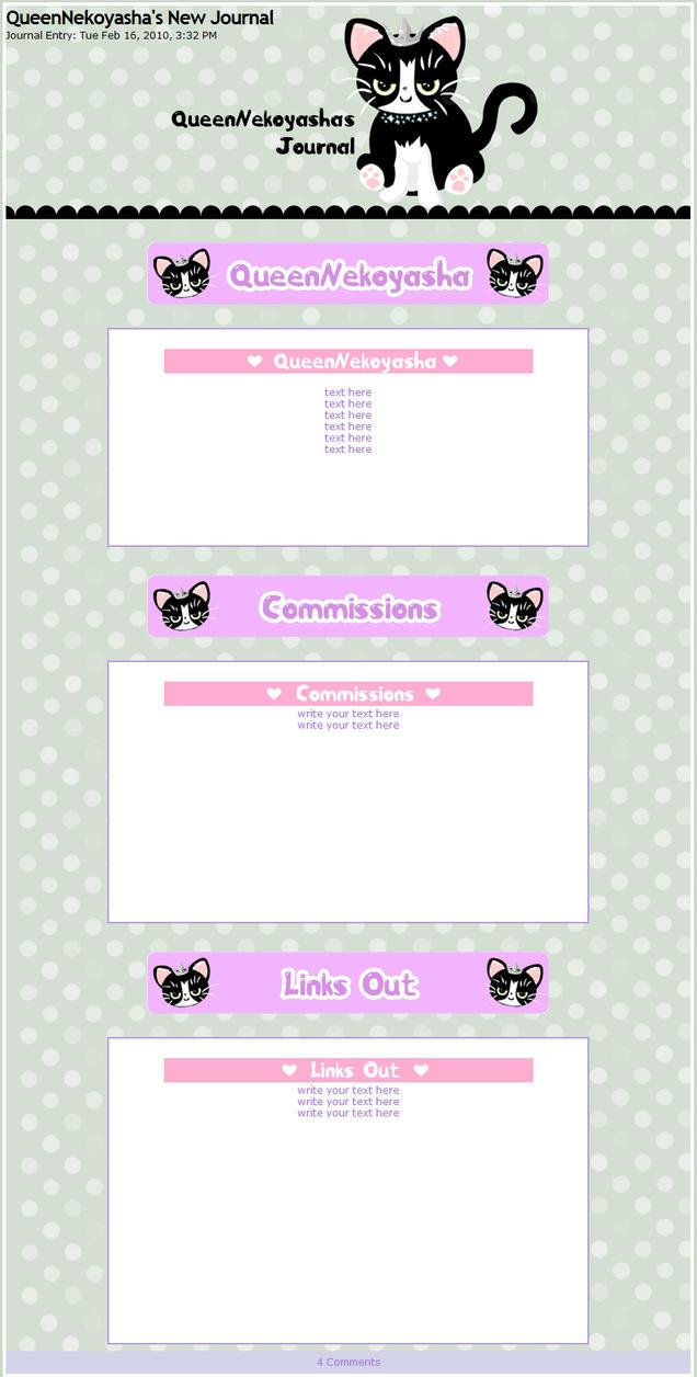 QueenNekoyasha Journal by miemie-chan3