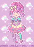 Kawaii fairy-kei Rainbow Star by miemie-chan3